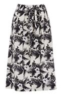 Oasis Havana tropical midi skirt