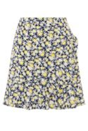 Oasis DITSY FRILL SKIRT