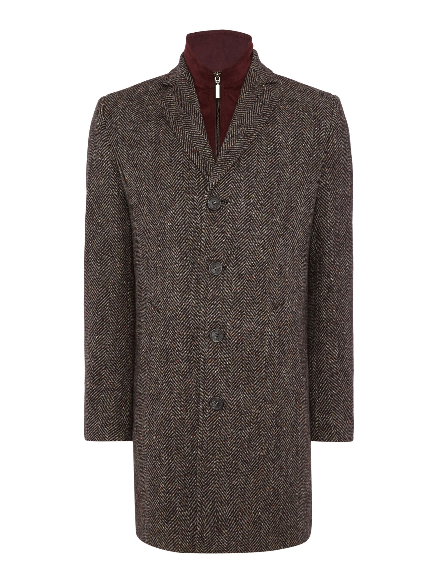 Men's Vintage Style Coats and Jackets Mens Magee Magee tweed overcoat £465.00 AT vintagedancer.com