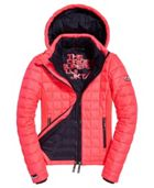 Hooded Box Quilted Fuji Jacket