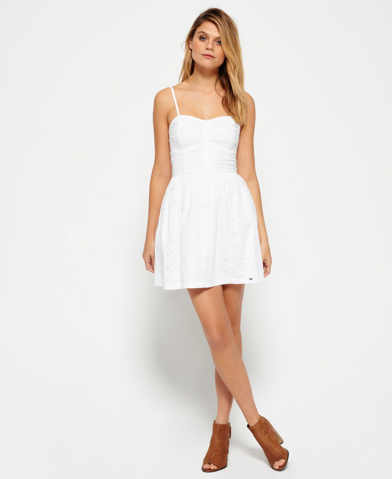 SUPERDRY WHITE DRESS