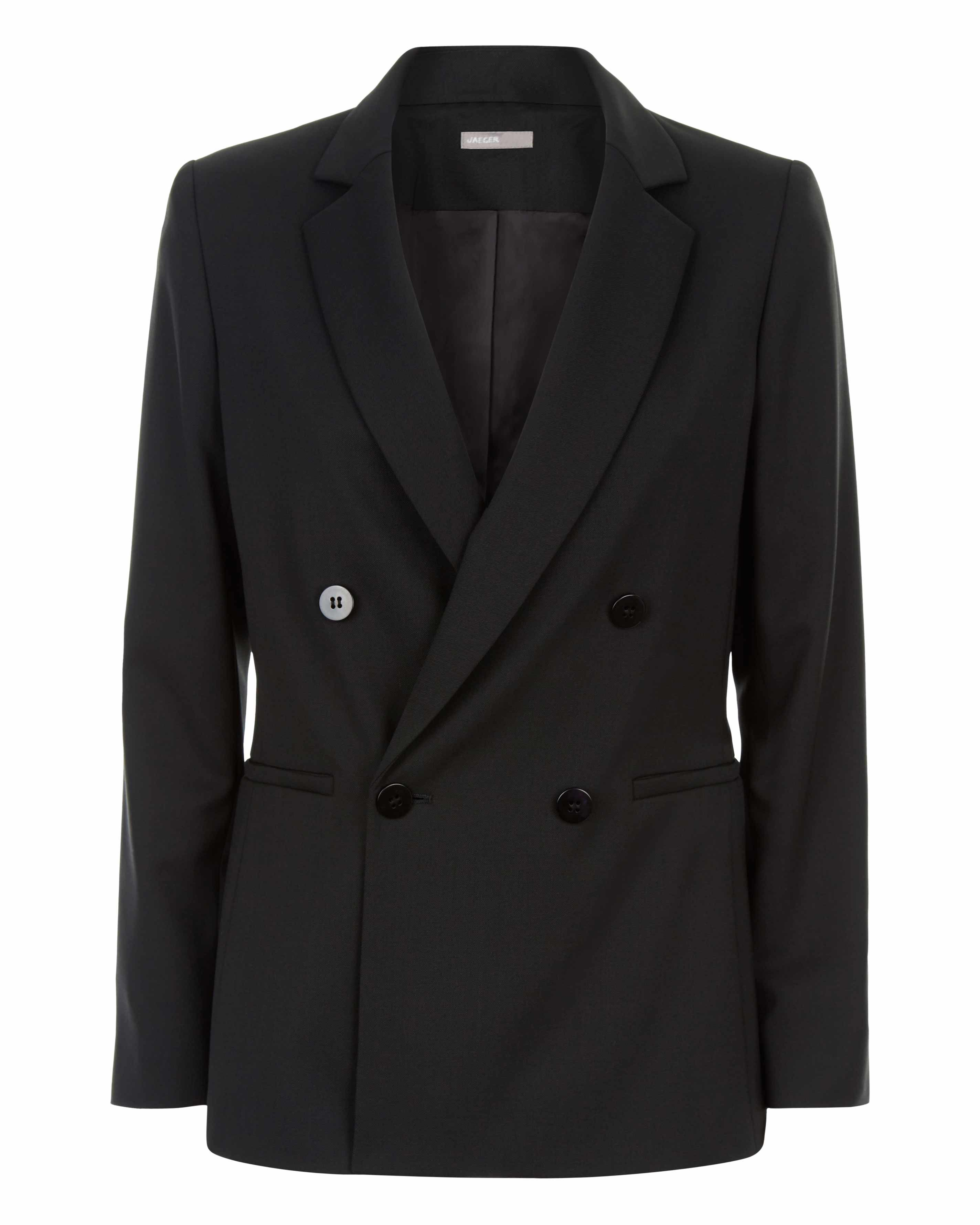 Straight Fit Db Tailored Jacket by Jaeger