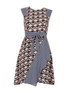 Izabel London Tile Printed Dress
