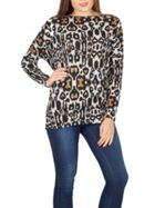 Izabel London Tribal Print Top