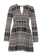 Izabel London Tile Print Dress