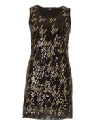 Izabel London Embellished Sequin Shift Dress