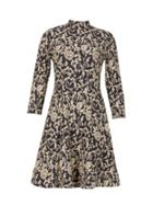 Izabel London Long Sleeved Printed Dress