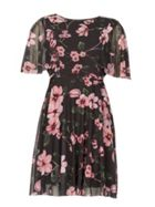 Izabel London Mesh Floral Dress