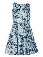 Izabel London Printed Fit &Amp- Flare Dress