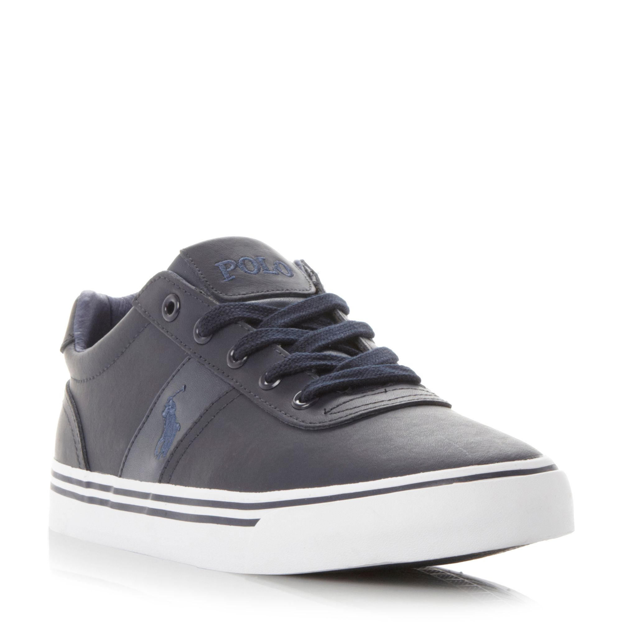 Best selling Polo Ralph Lauren Hanford Leather Trainers R25y6018