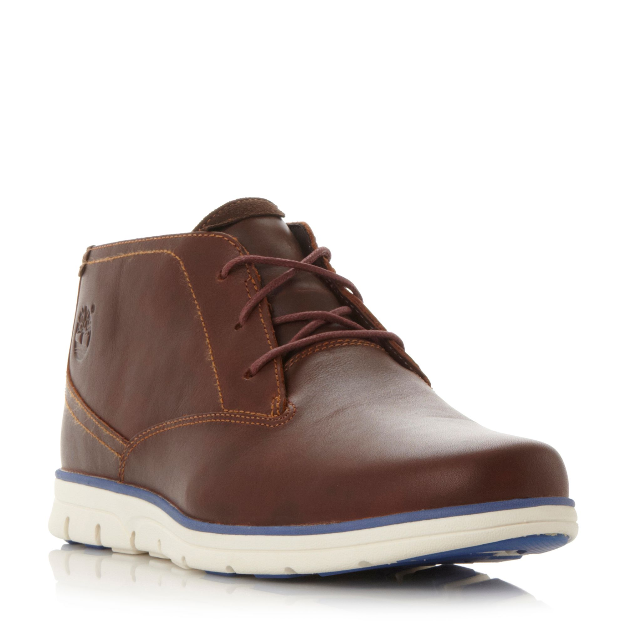Timberland A11br White Wedge Sole Chukka Boots - House of Fraser