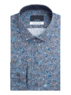 Men's Baumler Erich Micro Paisley Print Cotton Shirt
