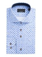 Sven Geo Print Cotton Shirt