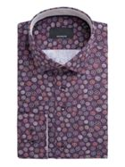 Men's Baumler Uwe Circle Print Cotton Shirt