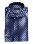 Men's Baumler Randolf Diamond Print Cotton Shirt