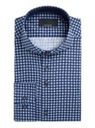 Men's Baumler Volker Geo Print Cotton Shirt