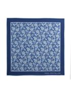 Paul Costelloe Roslin Paisley Motif Pocket Square