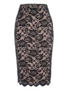 Jane Norman Lace Pencil Skirt