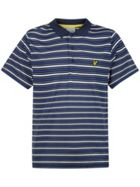 Men's Lyle and Scott Mosset Stripe Polo