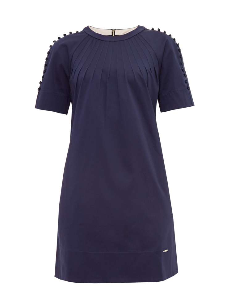 Ted Baker Charr Button Detail Dress - House of Fraser