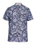 Men's Ted Baker Xchange Leaf Print Shirt