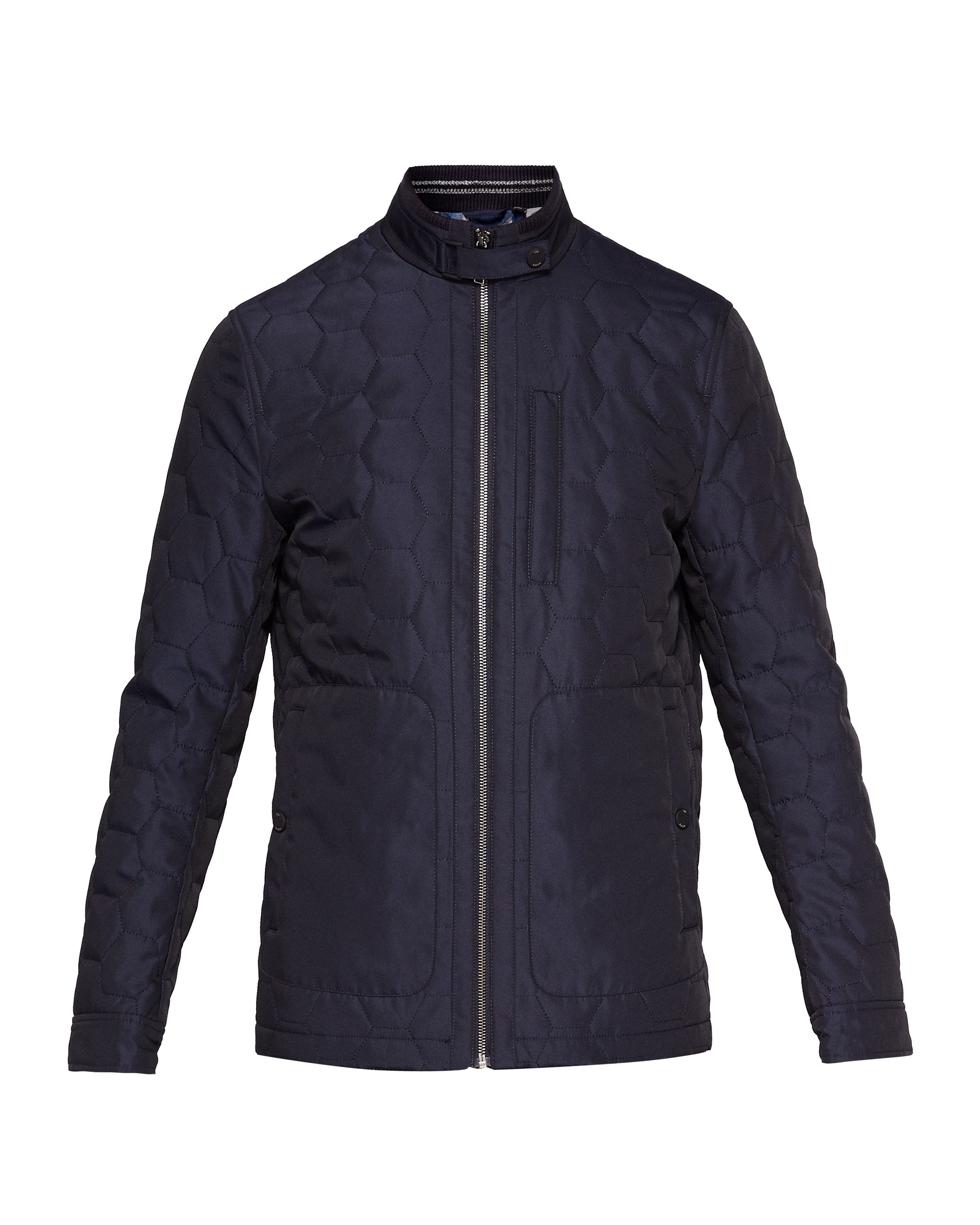 jacket the mens bomber for product in racer black normal board wakefield quilted lauren flash ralph cafe leather lyst men quilt polo caf