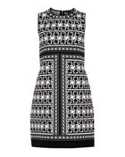 Ted Baker Jammiea Tessellation Jacquard Dress