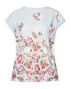Ted Baker Soma Patchwork Woven T-Shirt