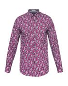 Men's Ted Baker Bellla Floral Print Cotton Shirt