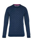 Men's Ted Baker Crazy Wool-Blend Jacquard Jumper