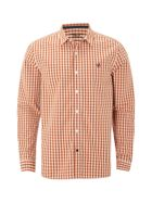 Men's White Stuff Heartland mini check ls shirt