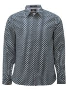 Men's White Stuff Cyclone print ls shirt