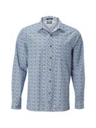 Men's White Stuff Metar print ls shirt