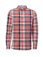 Men's White Stuff Kepel Madras Check Long Sleeve