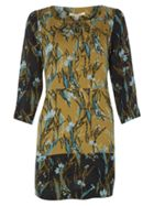 White Stuff Linear Leaf Print Tunic