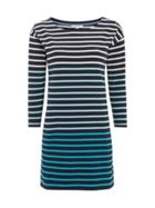 White Stuff Ombre Stripe Jersey Tunic