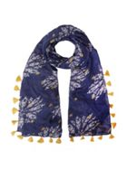 Grand Street Floral Scarf