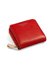 Aspinal Of London Mini Continental Zipped Coin Purse