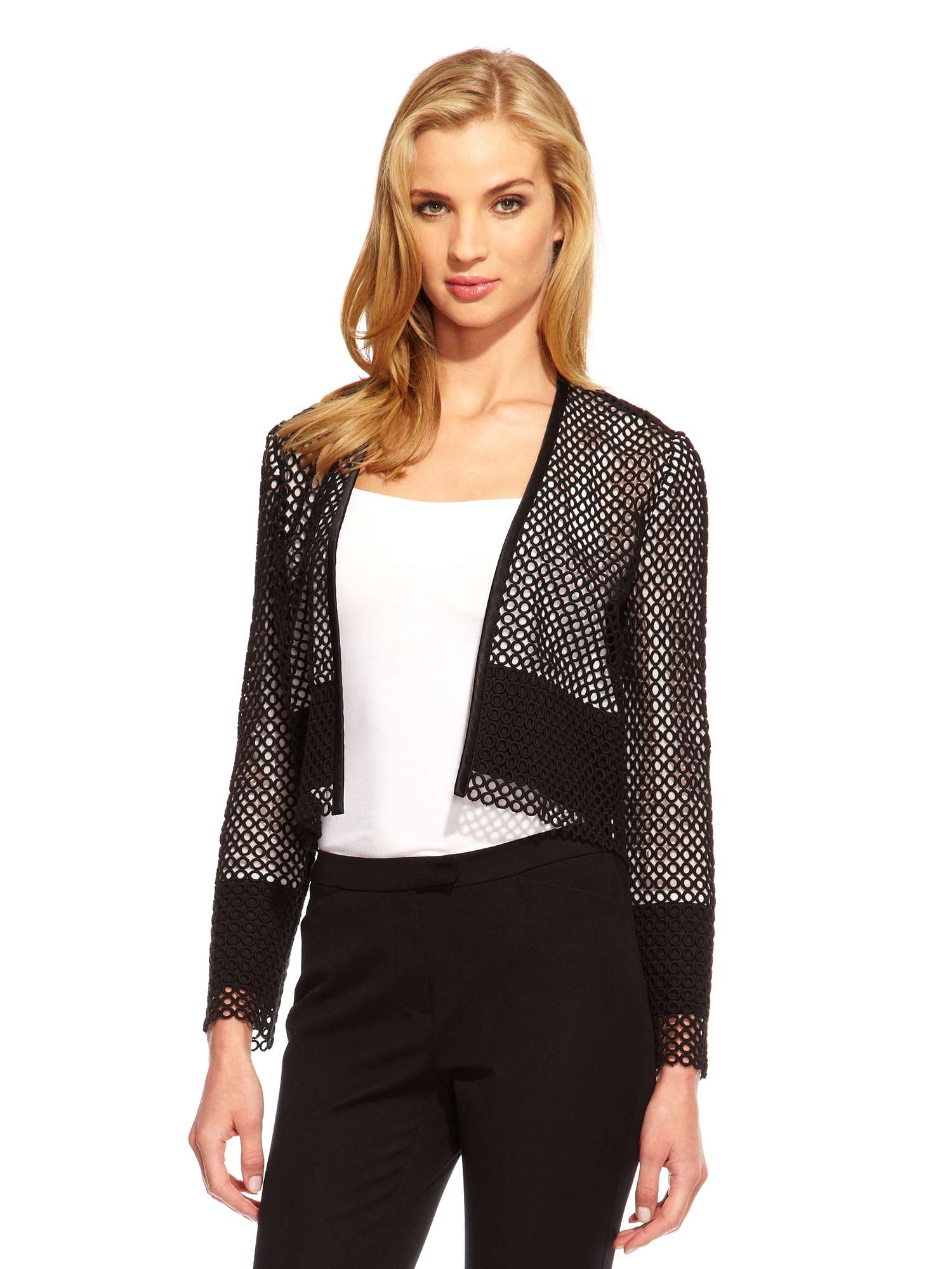 Dress Jacket in Eyelet a Damsel Tq6xFw