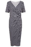 Damsel in a Dress Enrica Spot Print Dress