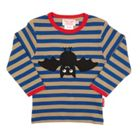 Toby Tiger Kids Bat T-Shirt