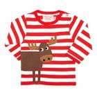 Toby Tiger Kids Moose Wrap Around T-Shirt