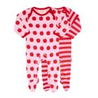 Toby Tiger Baby Apple 2 Pack Of Sleepsuits