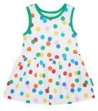 Toby Tiger Organic Cotton Confetti Summer Dress