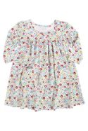 Mini Vanilla Girls Ditsy Print Lounge Dress