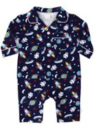 Mini Vanilla Baby Boys Mock Cotton Pyjamas