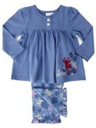 Mini Vanilla Girls Cotton Lounge Pyjamas