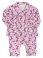 Mini Vanilla Baby Girls Cotton Mock Pyjamas