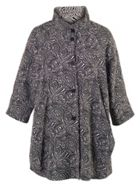 Chesca Swirl Reversible Coat