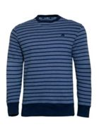 Men's Raging Bull Stripe Crew Sweater